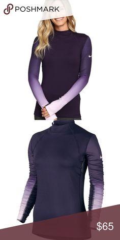 Purple Nike Pro Hyperwarm New with Tag! Nike Tops Sweatshirts & Hoodies
