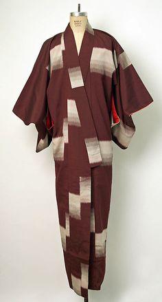 Kimono Date: mid-20th century Culture: Japanese Medium: silk