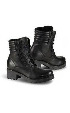 Falco Misty Ladies High Heeled Motorcycle Boots - LadyBiker.co.uk