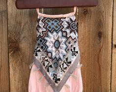 $18.96 baby girl pink boho pompom romper with matching headband