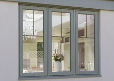 Wooden Flush Casement Window