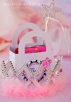 princess party favor :: boxes + printables  available at shoptomkat.com