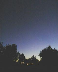 🌙✨ #moon #night #landscape #darkness #tumblr
