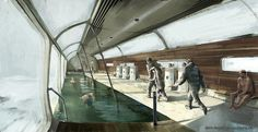 Snowpiercer concept artwork by RB Man