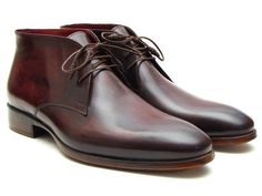 Paul Parkman: Chukka Boots Brown & Bordeaux