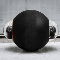 The military could have a new robotic aid in the future, and it'll come in the form of a large studded rubber ball. Called the GuardBot, this robot ball is able High Tech Gadgets, Gadgets And Gizmos, Cool Gadgets, Design Set, Technology Gadgets, Science And Technology, Drone Technology, Arduino, Drones