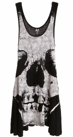 Show some skin (and bones!) with the badass Loose Tooth Dress