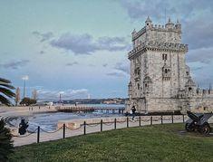 #tower #portugal #lisboa #travel #vsco #vscocam San Francisco Ferry, Tower, Building, Instagram Posts, Travel, Rook, Viajes, Computer Case, Buildings
