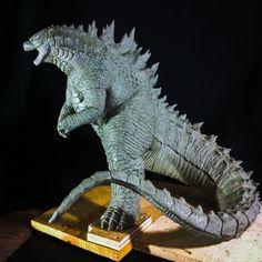 Godzilla Resin Kit by FritoFrito.deviantart.com on @DeviantArt