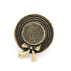Girly Hat Retro Ring