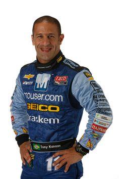 Tony Kanaan is a Brazilian race car driver of Lebanese heritage racing in the 2012 IZOD IndyCar Series