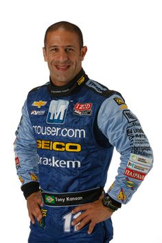 Tony Kanaan is a Brazilian race car driver of Lebanese heritage racing in the 2012 IZOD IndyCar Series