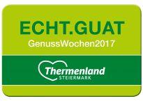 Echt.guat - GenussWochen im Thermenland Steiermark Wellness