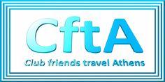 Club friends travel Athens