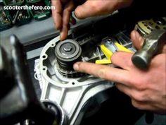 #Lambretta STF - #Montaggio #frizione 6 dischi