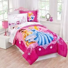 Disney 2pc Disney Princess Belle, Cinderella, and Sleeping Beauty Twin Comforter Set at Sears.com