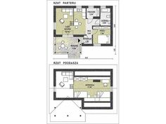 case care nu costa mult Small Homes, Case, Floor Plans, Little Houses, Tiny Homes, Floor Plan Drawing, House Floor Plans
