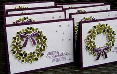 Artisan Wondrous Wreath Card by Barbara Meyer