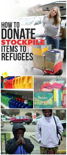 How to Donate Stockpile Items to Refugees