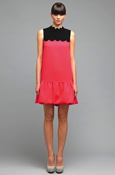 Victoria by Victoria Beckham: Spring/Summer 2012 Collection Is A Less-Expensive Dress Label Victoria Beckham Clothing Line, Victoria Beckham News, Victoria Beckham Collection, Mod Dress, Dress Up, New Dress Collection, Spring Collection, Expensive Dresses, Dresses Short