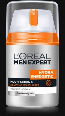 ★ 야근, 흡연, 음주, 스트레스로 지친 남성의 피부를 위한 수분 에너지 충전 솔루션-이드라 에너제틱의 에너자이징 수분 로션, 이드라 에너제틱 멀티액션8