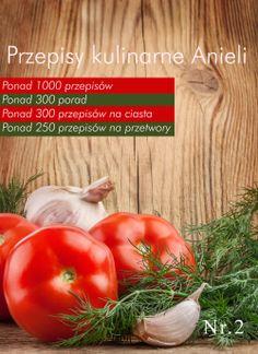 Przepisy kulinarne Anieli.