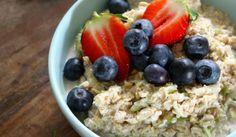 Lisa's Basic Bircher Muesli - Small Steps Living Caring For Mums, Bircher Muesli, Breakfast Cereal, Cinnamon Apples, Breakfast Recipes, Breakfast Ideas, Whole Food Recipes, Oatmeal