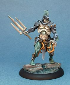 Kickstarter: Wrath of Kings (painted miniature prototype.)