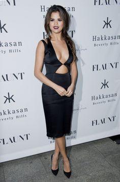 """Photos : Selena Gomez : une fille """"bien"""" qui ne s'empêche pas de jouer les beautés """"hot"""" en soirée !"""