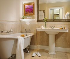 Bathroom in our newly refurbished Deluxe Bedrooms