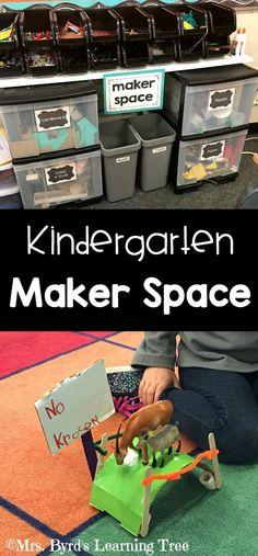 Maker Space in Kindergarten