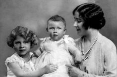 The Queen Mother, Princess Elizabeth, and Princess Margaret in the late 160s.