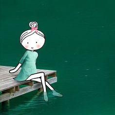 Annelinde Tempelman / Met de voetjes in het water