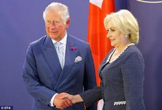 Prince Charles, The Prince of Wales, met President Klaus Iohannis and Prime Minister Viorica Dancila at Bukarest during his annual visit to Romania. Prince Phillip, Prince Charles, Hm The Queen, Lady In Waiting, Royal Engagement, Duchess Of Cornwall, All Family, Prince Of Wales, Queen Elizabeth Ii