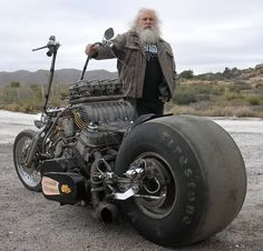 Wow ........ looks like a beast from Mad Max. You would have to be Mad Max to fly this beast.
