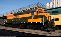 RailPictures.Net Photo: GN 400 Great Northern EMD SD45 at Duluth, Minnesota by Kent Rengo