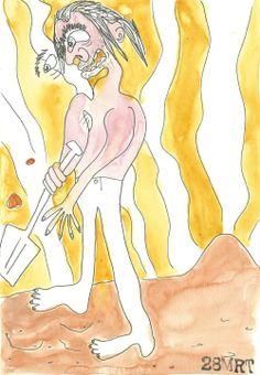 De reus die de berg van Heist deedontstaan