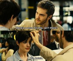 Anne Hathaway and Jim Sturgess as Emma and Dexter in One Day Series Movies, Film Movie, Movies Showing, Movies And Tv Shows, Dexter, Jim Sturgess, Movie Dialogues, Tv Show Music, Cute Love Memes