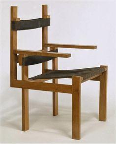 Slatted Chair, 1923 Marcel Breuer