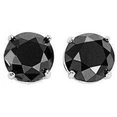 Hoppe Jewelers - 2RD BLK D=1.00CTW 14KW 4PRONG STUD EARS, $299.0 (http://www.hoppejewelers.com/2rd-blk-d-1-00ctw-14kw-4prong-stud-ears/)