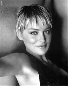 Sharon Stone - American actress, film producer, and former fashion model… Divas, Rachel Williams, Beautiful People, Beautiful Women, Photo Portrait, Portraits, Hollywood Stars, Famous Faces, Belle Photo