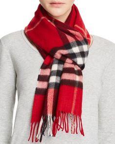 00b616da8ce2 BURBERRY Giant Check Cashmere Scarf.  burberry  scarf Burberry Pattern