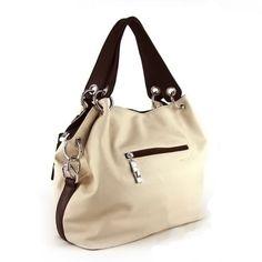 Contrast Color Quality PU Leather Hobo-Style Fashion Crossbody Shoulder Handbag Purse 4 Colors