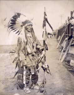"""""""Indian Chief."""" Department of Anthropology, 1904 World's Fair. ©Missouri History Museum"""