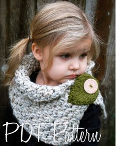 Crochet PATTERNThe Autumn Cowl Child Adult sizes by Thevelvetacorn, $5.50