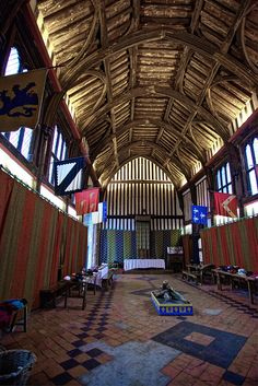 Gainsborough Old Hall by Cathedrals and Churches of Great Britain, via Flickr