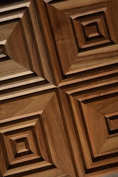 Moderm panelling made of wood