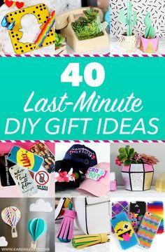 40 Last-Minute Christmas Gift Ideas! ~ Holiday 2016 | Karen Kavett