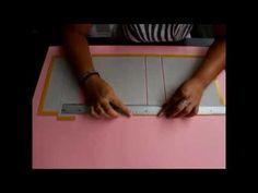 ▶ Como hacer una encuadernacion Parte 2 (Binding) muy resistente para álbum Scrapbooking - YouTube
