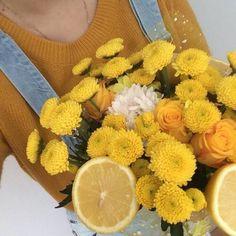 Un ramo de flores con naranjas enamora (?)